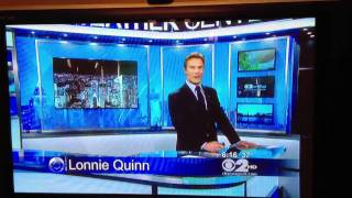 Lonnie Quinn CBS News shout out to Bronx Science Basketball
