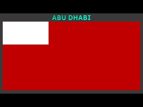 Flags of each Emirate of the United Arab Emirates - Vlajky Emirátů, Spojených Arabských Emirárů