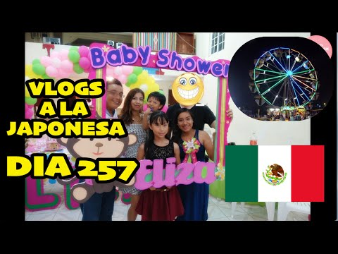 Vacaciones en MEXICO Baby Shower + Feria de Tuxpan - Ruthi San ♡ 13-08-16