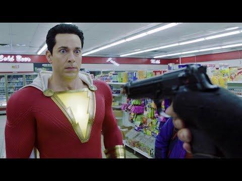 Download Captain Sparklefingers | Shazam! [4k, HDR]