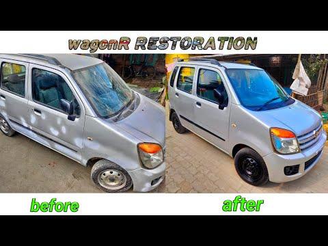 Maruti Suzuki Wagon R Restoration | Car Restoration Project | Restoration Video