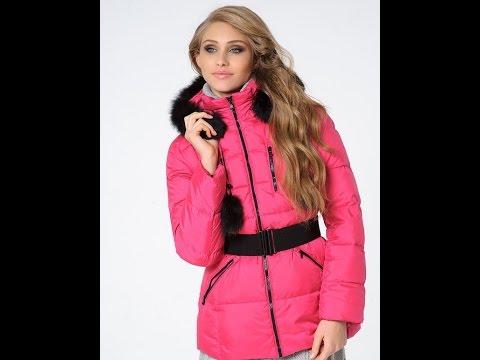 женское пальто пуховик с капюшоном