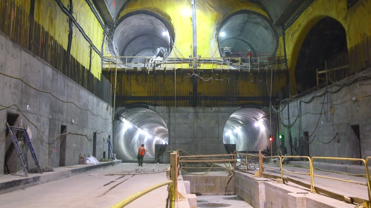 A Deep Dive Into New York S East Side Access Project Youtube