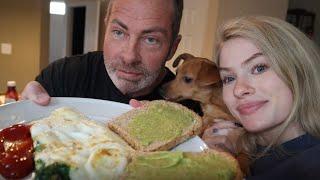 Food Vlog: BREAKFAST MUKBANG with CLAUDIA
