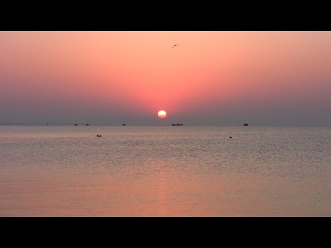 VLOG: Рассвет на море / Восход солнца / Феодосия / Релакс-видео. Романтика.