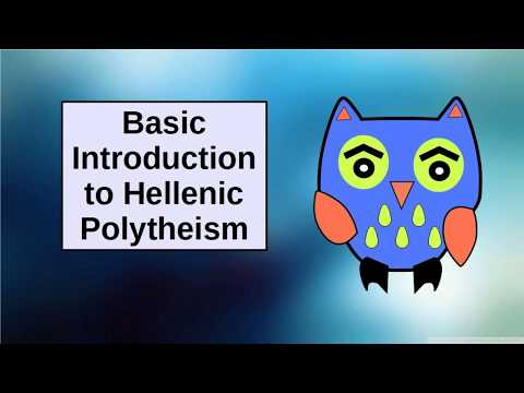 Basic Introduction To Hellenistic Polytheism