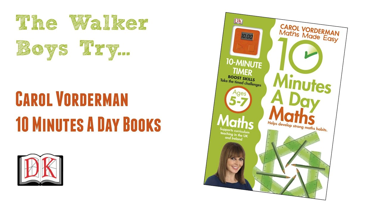 Kids Book Review: Carol Vorderman Maths Made Easy (and others) - DK ...