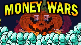 Minecraft HALLOWEEN MONEY WARS #1 with Vikkstar & Nadeshot
