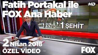 Erdoğan: Bakın gençler TEOG kalkınca nasıl rahatladı? 2 Nisan 2018 Fatih Portakal ile FOX Ana Haber
