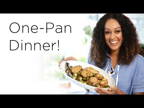 Tia Mowry's Simple Sheet Pan Dinner   Quick Fix