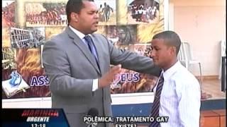 PASTOR VANDERSON TROVÃO DEBATE SOBRE CURA GAY. SBT   MARINGÁ URGENTE
