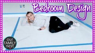 designing her future dream bedroom