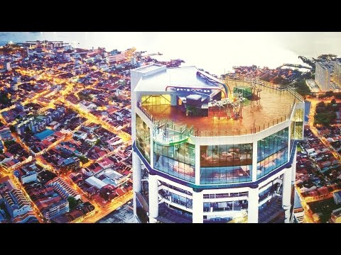 Attractions of The Top @ KOMTAR Penang
