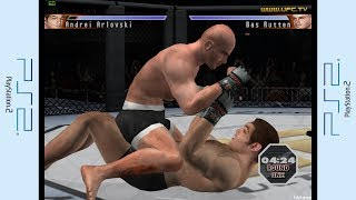 PS2 - UFC: Sudden Impact Champion Road Gameplay