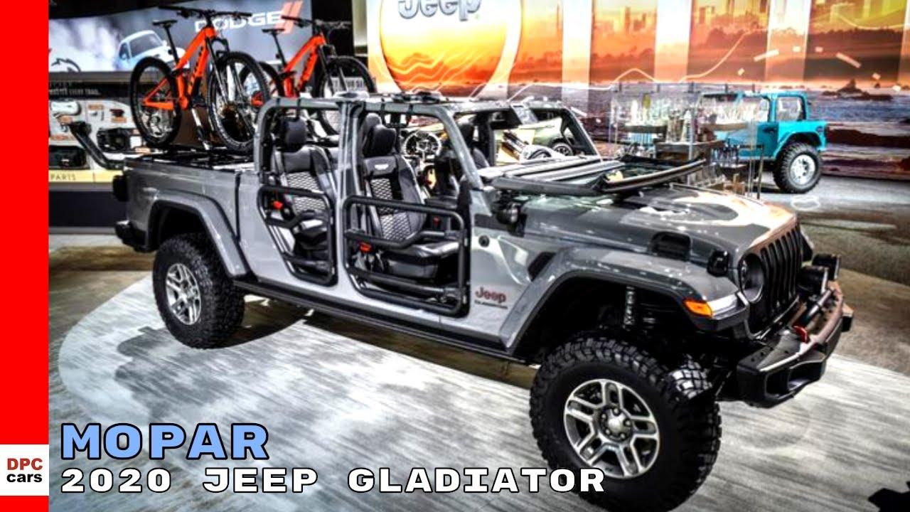 Mopar 2020 Jeep Gladiator - YouTube
