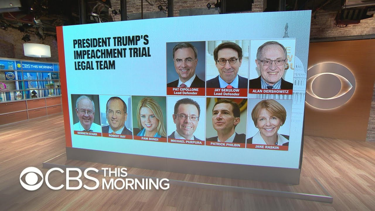 What to expect from Trump's defense team's first day thumbnail