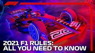 F1 2021 Rules: Everything You Need To Know