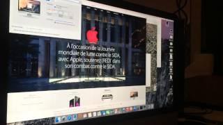 iMac 5K et saccades