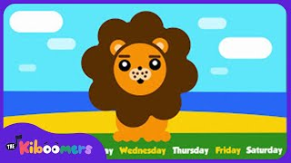 Days of the Week Song | Teach Days of the Week ESL | The Kiboomers