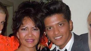 BRUNO MARS MOM DIES SUDDENLY AT 55 BRAIN ANEURYSM