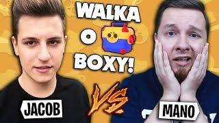 JACOB vs MANOYEK - WALKA O MEGA BOXY w Brawl Stars!