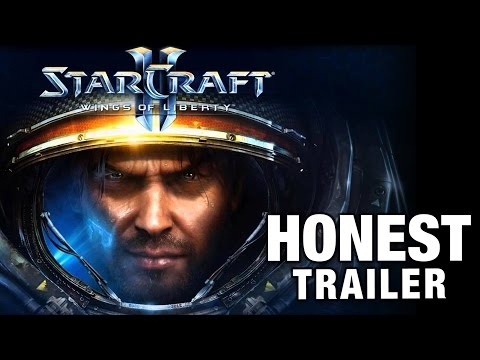 STARCRAFT II -Honest Game Trailers