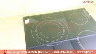 TDM.VN | Review Bếp Hồng Ngoại Hafele HC-R603A 536.01.631 bếp điện 3 Vùng Nấu chính hãng