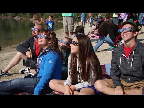 Total Solar Eclipse At Redfish Lake, Sawtooth National Forest