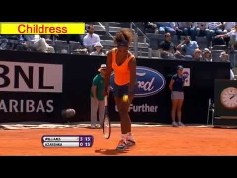 (HD)Highlights:Serena Williams defs.Victoria Azarenka in Rome Final 2013►For her 51st Career title