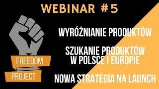 WEBINAR -  Produkty z Polski    Wyróżnianie produktów   Nowa strategia na launch z sukcesem