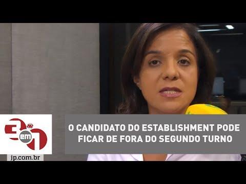 """Vera Magalhães: """"O candidato do establishment pode ficar de fora do segundo turno"""""""