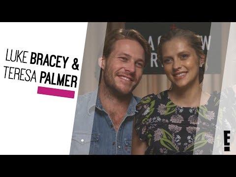 Luke Bracey & Teresa Palmer   The Hype  E!