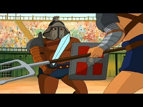 SPARTACUS | The Revolt | Full Episode 5 | Cartoon TV Series | English