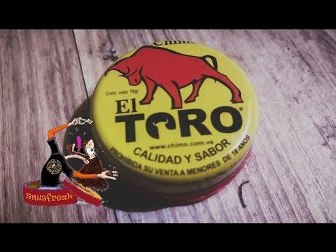 Chimo El Toro 2015 I Snusfreak.com