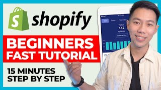 Shopify Setup in 15 MINUTES For Beginners 2022 – Full Tutorial