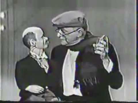 VINTAGE 1964 EDGAR BERGEN & CHARLIE McCARTHY SKIT WITH CANDICE BERGEN