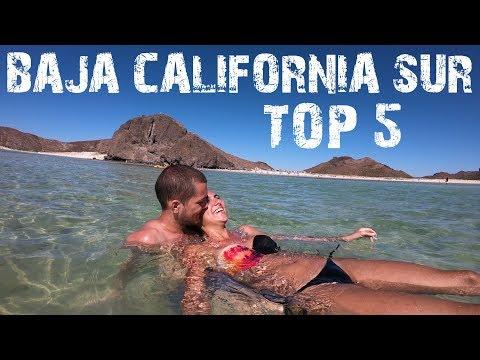 TOP 5 BAJA CALIFORNIA SUR - MEXICO TRAVEL TIPS