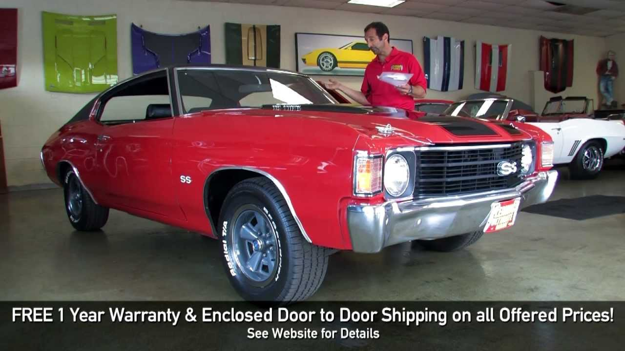 1972 Chevrolet Chevelle Ss 396 For Sale With Test Drive