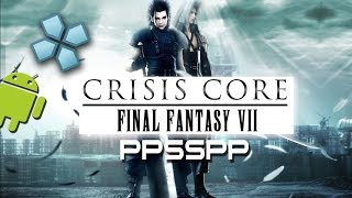 Final Fantasy VII PSP On Roid PPSSPP Emulator