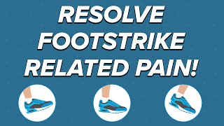 Identify and Improve Your Footstrike - Which is best? heel strike, mid foot strike, or toe strike?