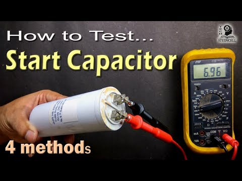 download How to Test Motor Start and Motor Run AC Capacitor of ac fan and compressor