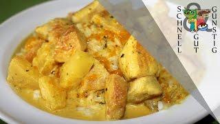 Hähnchen-Curry mit Reis: Schnell, Gut & Günstig Kochen: Mittagessen / Abendessen (by XOF)
