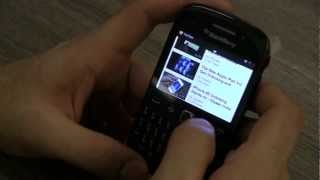 Blackberry Curve 9220 Unboxing and hands on Review - iGyaan