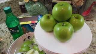 Pinterest Finds: DIY Preserving a Fresh Crunchy Apple - aSimplySimpleLife