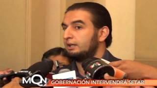 GOBERNACIÓN INTERVENDRÁ SETAR