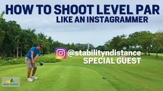 @StabilitynDistance - CAN INSTAGRAMMER EVEN PLAY GOLF? How to Shoot Level Par Myanmar Golf Episode 2