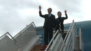 Президент Вьетнама Чан Дай Куанг прибыл в Беларусь