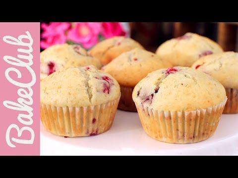 Himbeer-Limetten-Muffins   BakeClub