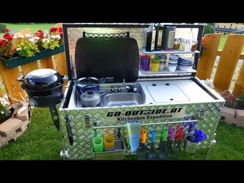 Outdoorküche Camping Car : Kitchenbox expedition camping und outdoor küche youtube