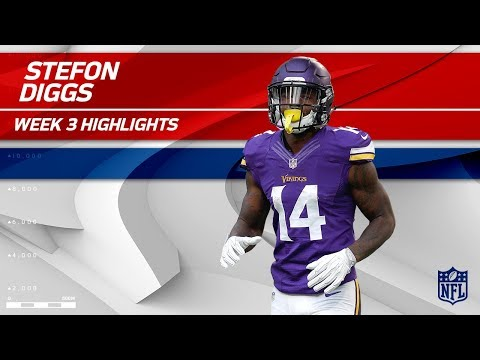 Stefon Diggs Dominates w/ 2 TDs! | Buccaneers vs. Vikings | Wk 3 Player Highlights